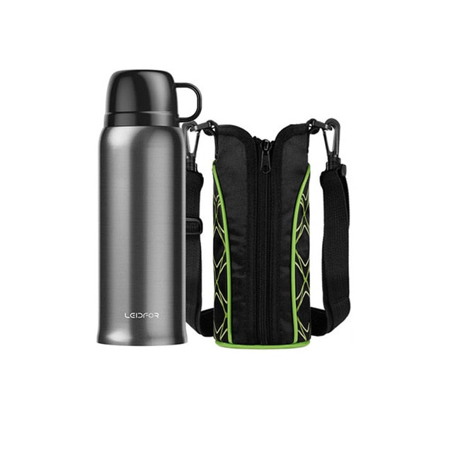Thermos Vacuum Flask Travel Thermo Bottles Outdoor Thermal 650ml Stainless Steel Insulated Camp Bicycle Sports Thermoses