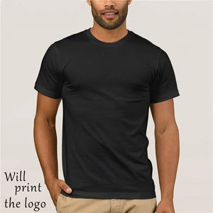 T-shirt Casual Short Sleeve For Men Clothing Summer United States Army Ranger Mens Ss T-shirt-black