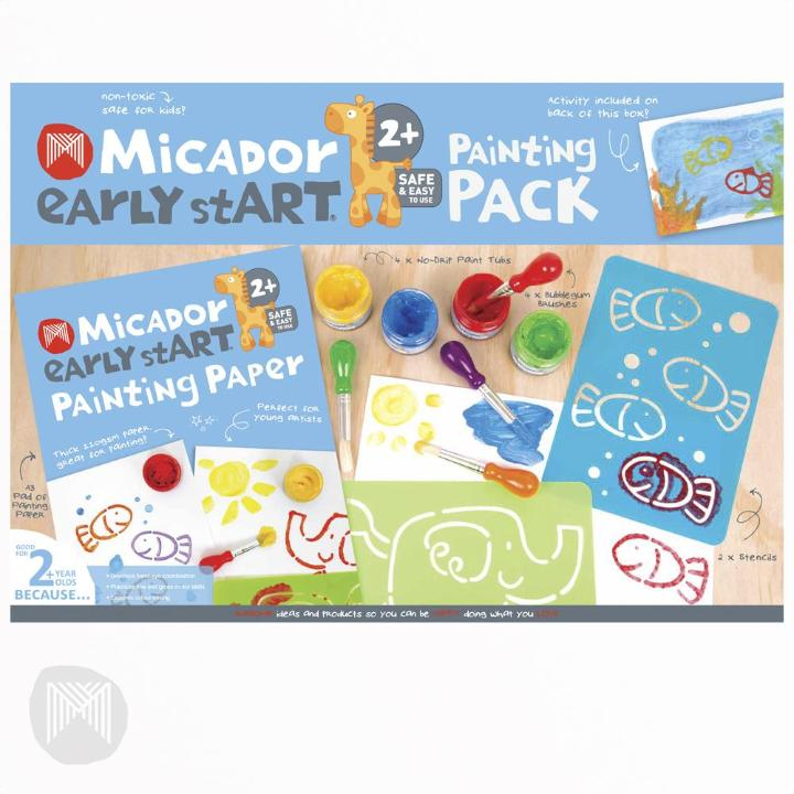 Micador: Early Start Painting Pack