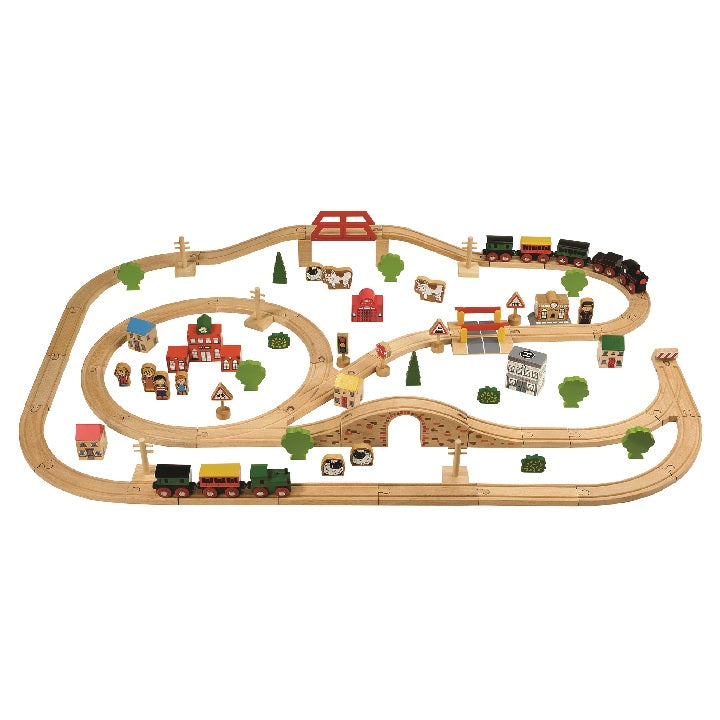 tts: 100 piece Train Set