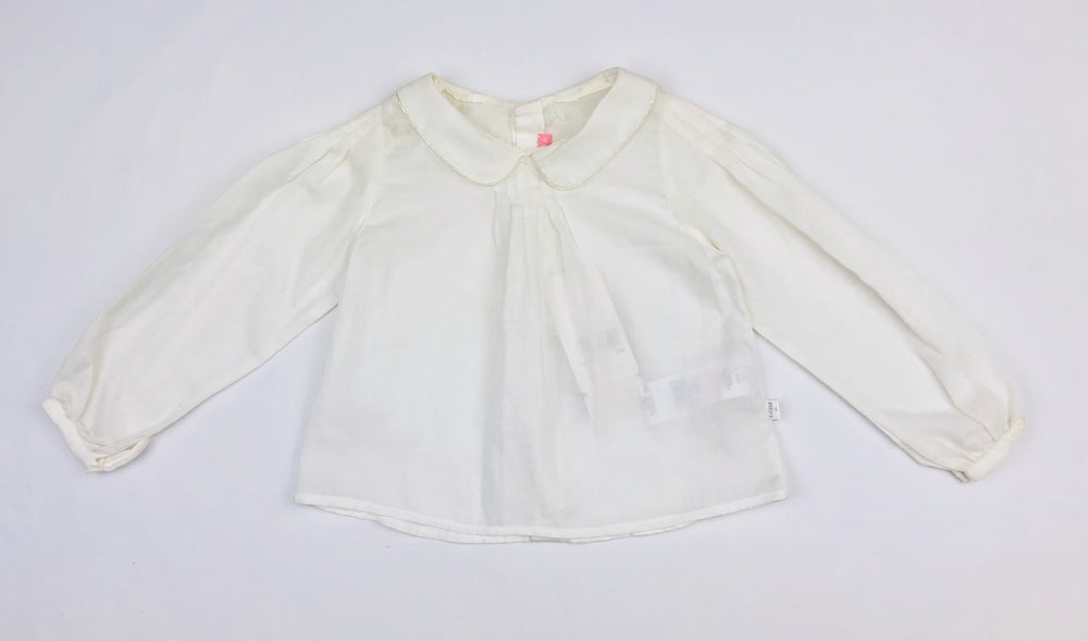 Escada Girls White Blouse