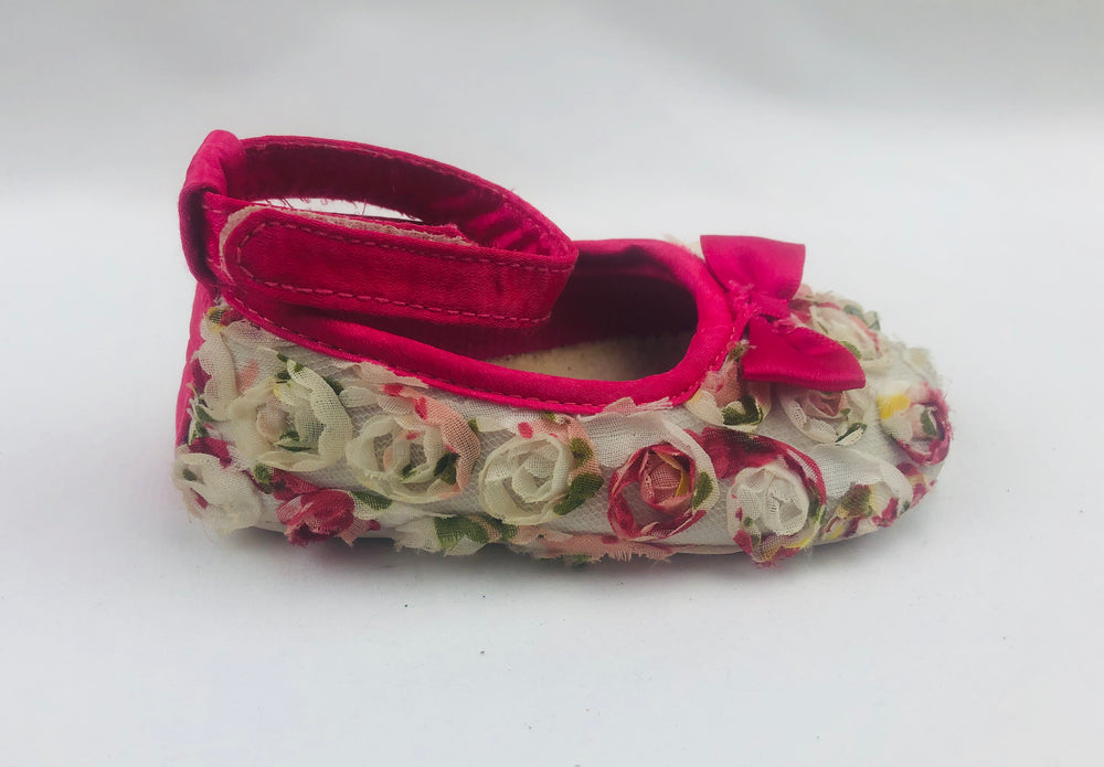 Zara Baby Girls Floral Shoes