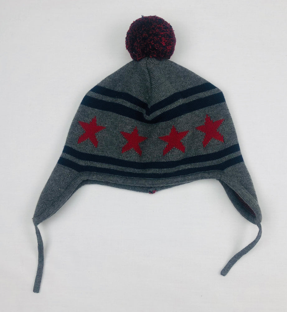Seed Heritage Stars and Stripes Beanie w/ PomPom