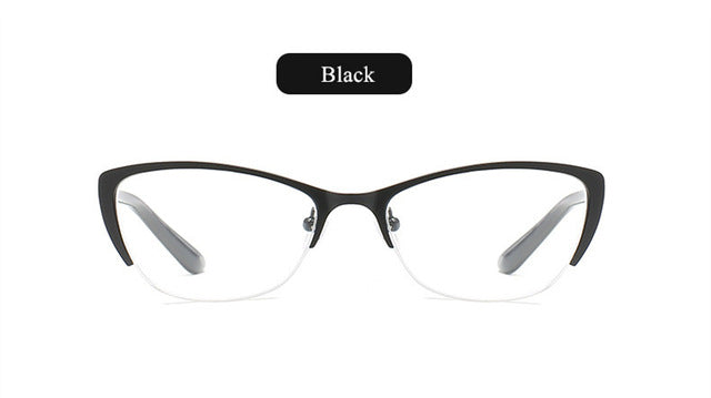 YOOSKE Brand Retro Reading Glasses Women Anti-fatigue Cat Eye Frame Glasses Presbyopia Prescription Eyeglasses 2.0 2.5 3.0 3.5-modlily