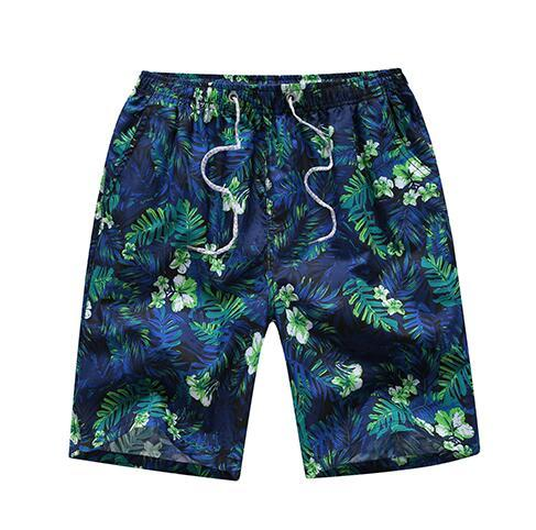 VELALISCIO 2018 Summer Large Size Beach Shorts Casual Print Men Beach Shorts Mens Asian Size Shorts Women Beach Shorts-modlily