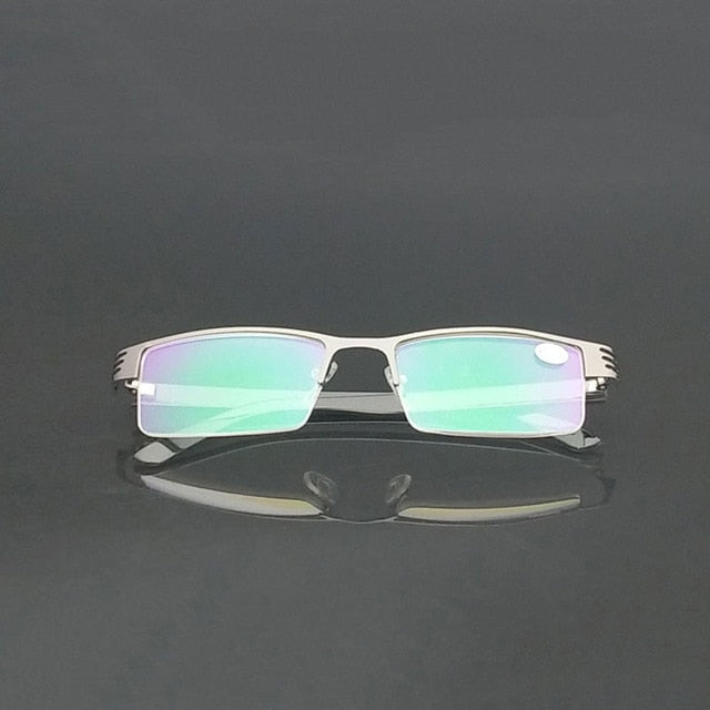 Stainless Reading Glasses Anti Blue Ray Computer Lenses Women Men Spectacles Gafas de Lectura 1.00 1.50 2.00 2.50 3.00 3.50 4.00-modlily