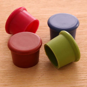 1 pcs Bottle Stoppers Round Silicone Red Wine Covers Beer Bottle Sealers Kitchen Bar Simple Practical Tools-modlily
