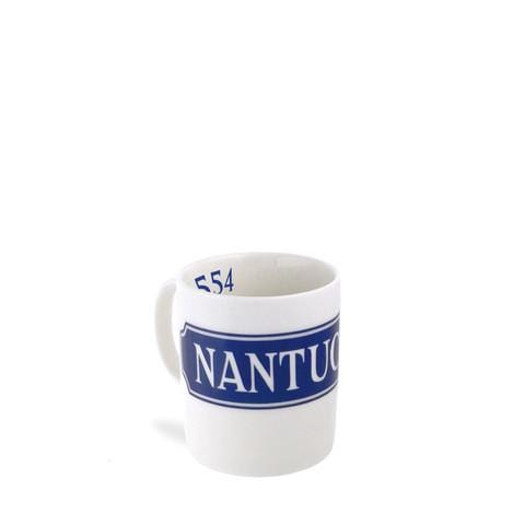 Blue Nantucket Quarterboard Mug - Exclusive