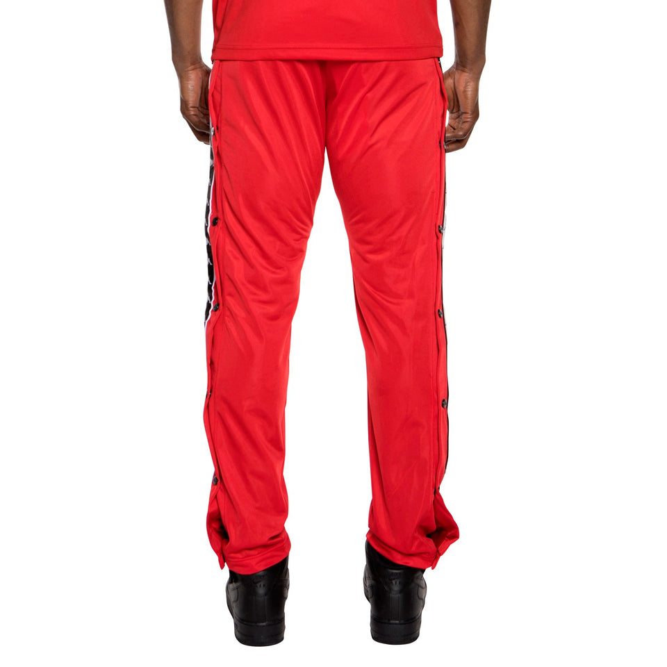 BANDA ASTORIA SLIM FIT MEN'S SNAP TROUSERS COLOR RED-BLACK-WHITE