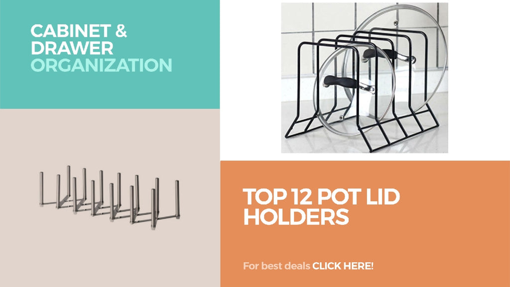 Top 12 Pot Lid Holders // Cabinet & Drawer Organization Best Sellers Choose Your Favorite, Click Here!