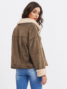 Fleece Corduroy Jacket - VINT