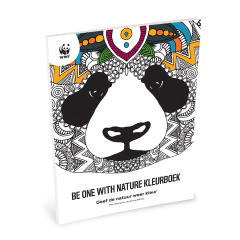 Be one with nature Kleurboek
