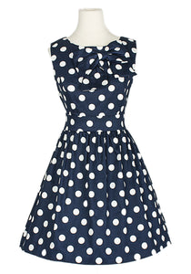 Vintage Style Large Bow Dress