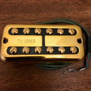 TV Classic Neck - Gold NE Mount