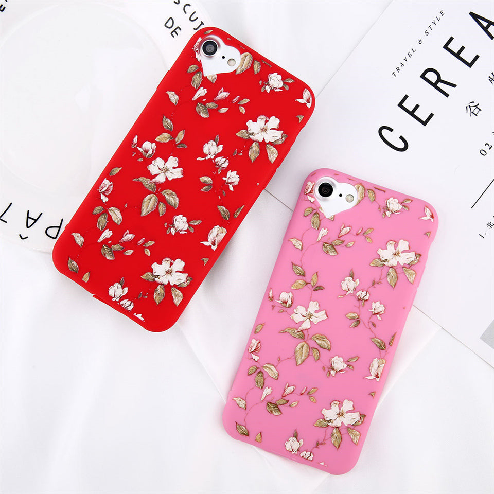 Soft Flower Petals IPhone Case - Modern Charme.