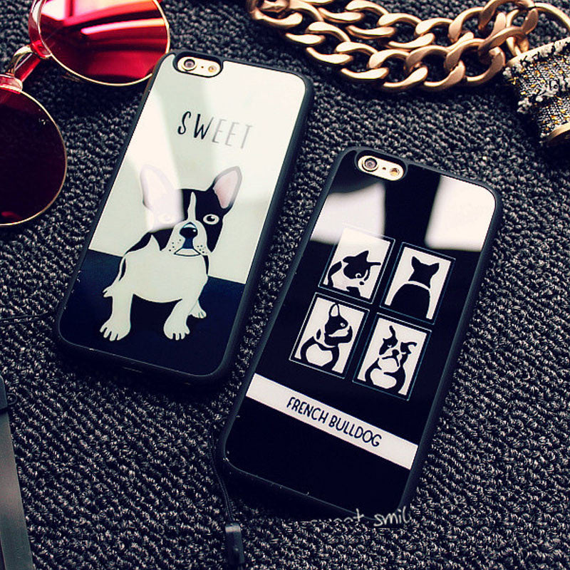 Sweet French Bulldog IPhone Case - Modern Charme.