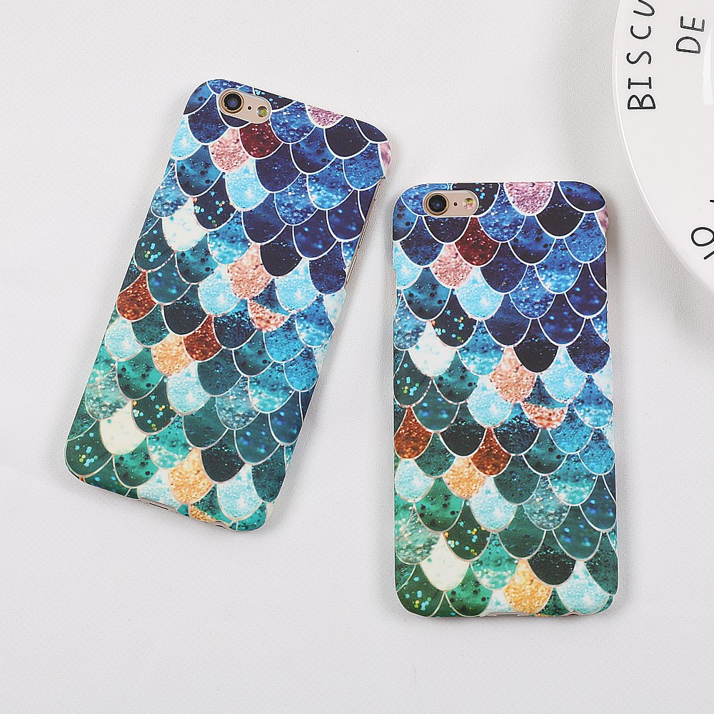 Colorful Scales IPhone Case - Modern Charme.