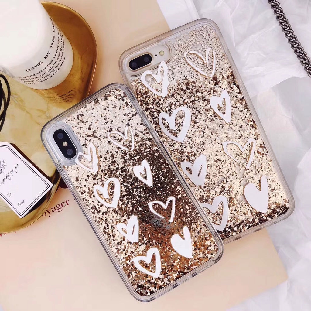 Heart Of Gold IPhone Case - Modern Charme.