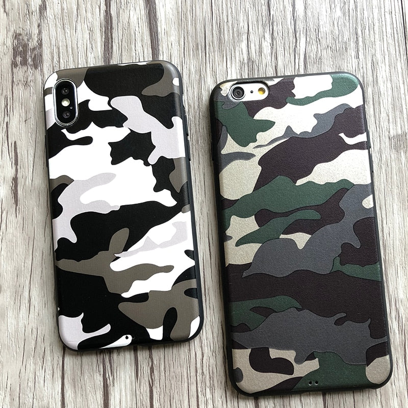 Leather Army Fatigue IPhone Case - Modern Charme.