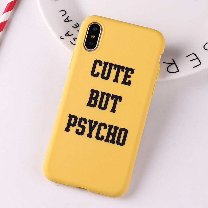 Cute But Psycho IPhone Case - Modern Charme.