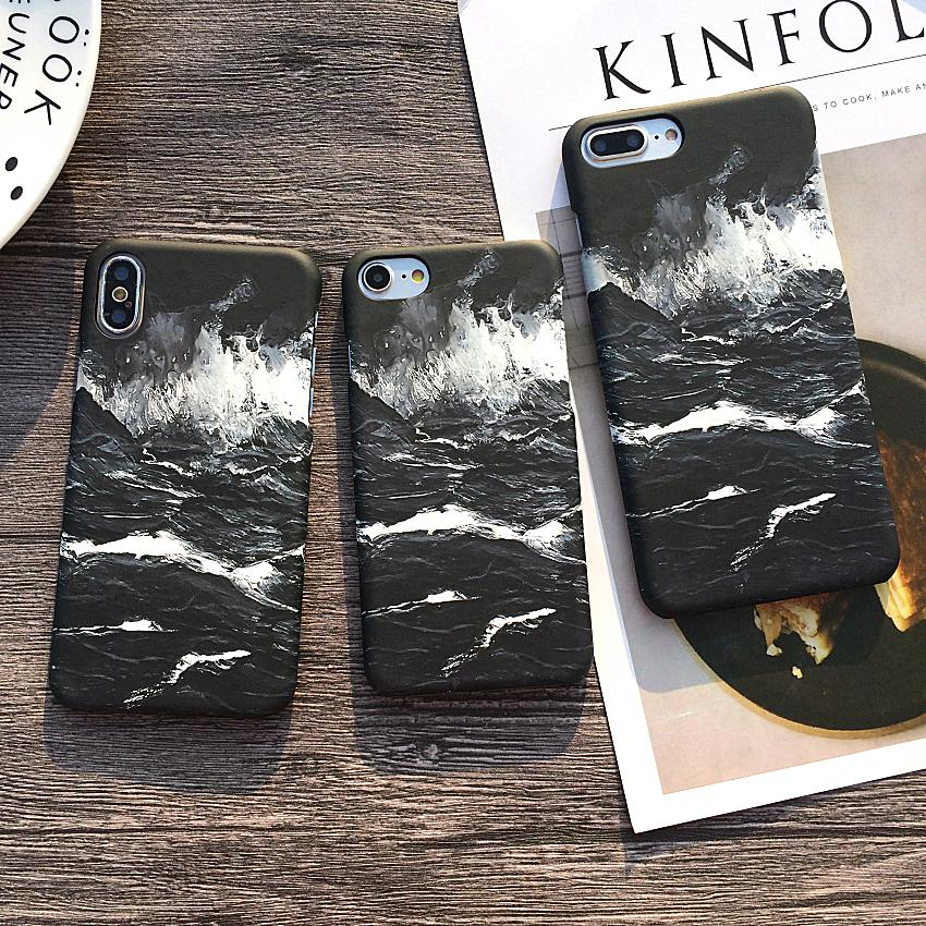 Crashing Waves IPhone Case - Modern Charme.
