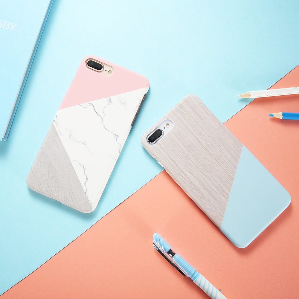 Pastel Geometric IPhone Case - Modern Charme.