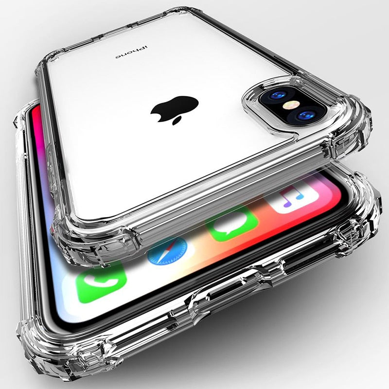 Shockproof Silicone IPhone Case - Modern Charme.