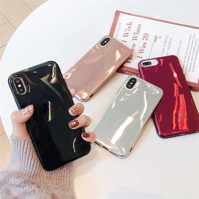 Crystal Plated IPhone Case - Modern Charme.