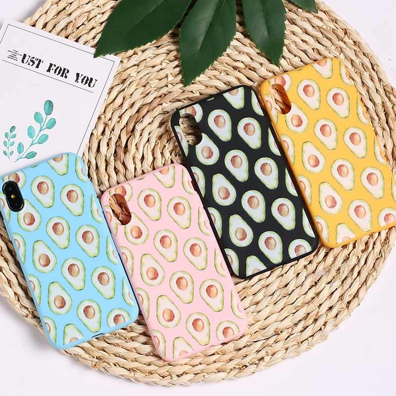 Avocado IPhone Case - Modern Charme.