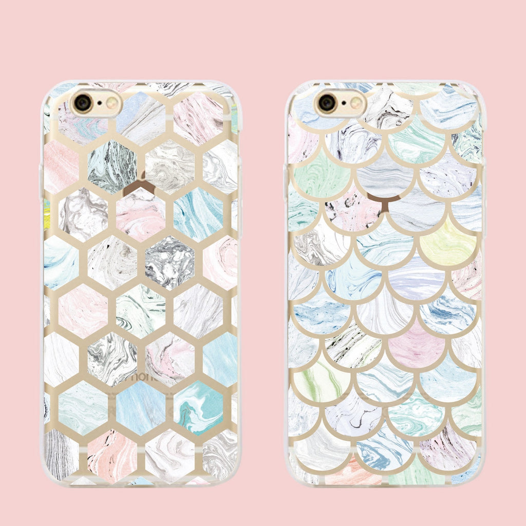 Mermaid Scales IPhone Case - Modern Charme.