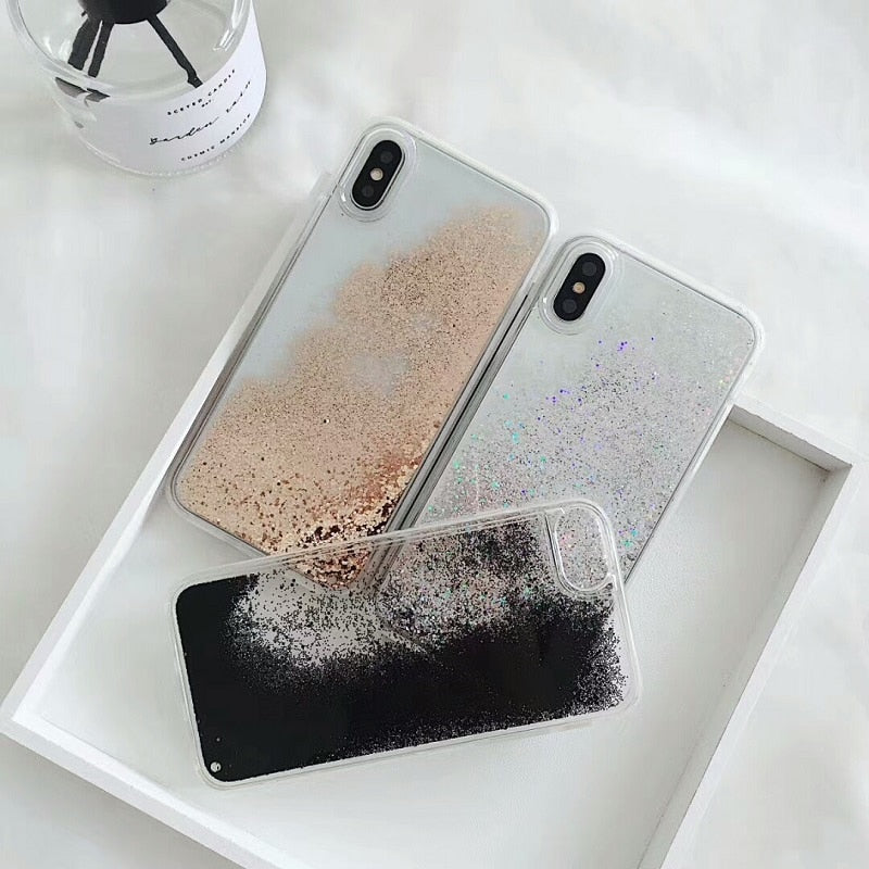 Glitter Quicksand IPhone Case - Modern Charme.