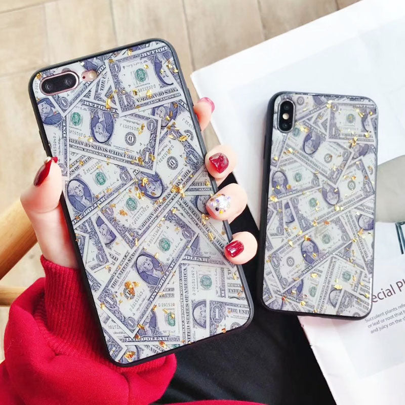 Money & Gold IPhone Case - Modern Charme.