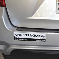 Give Bees a Chance Bumpersticker