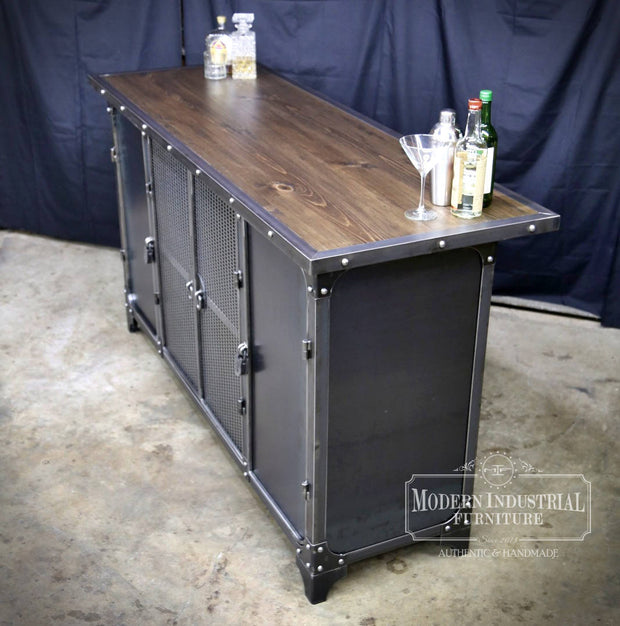 Carnegie Home Bar Cabinet