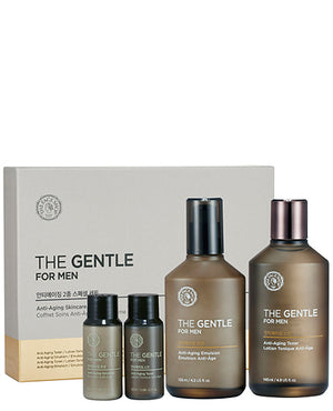 The Gentle For Men Anti-Aging Skincare Gift Set