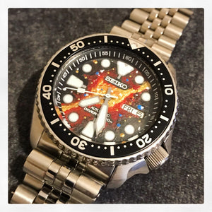 The Handpainted Galaxy Watch Face/Dial