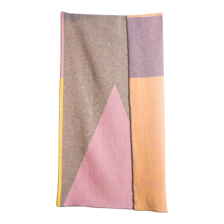 Konstructiv Wool Blanket by Michele Rondelli