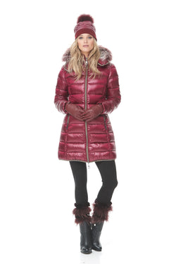 Women - Down Feather Jacket