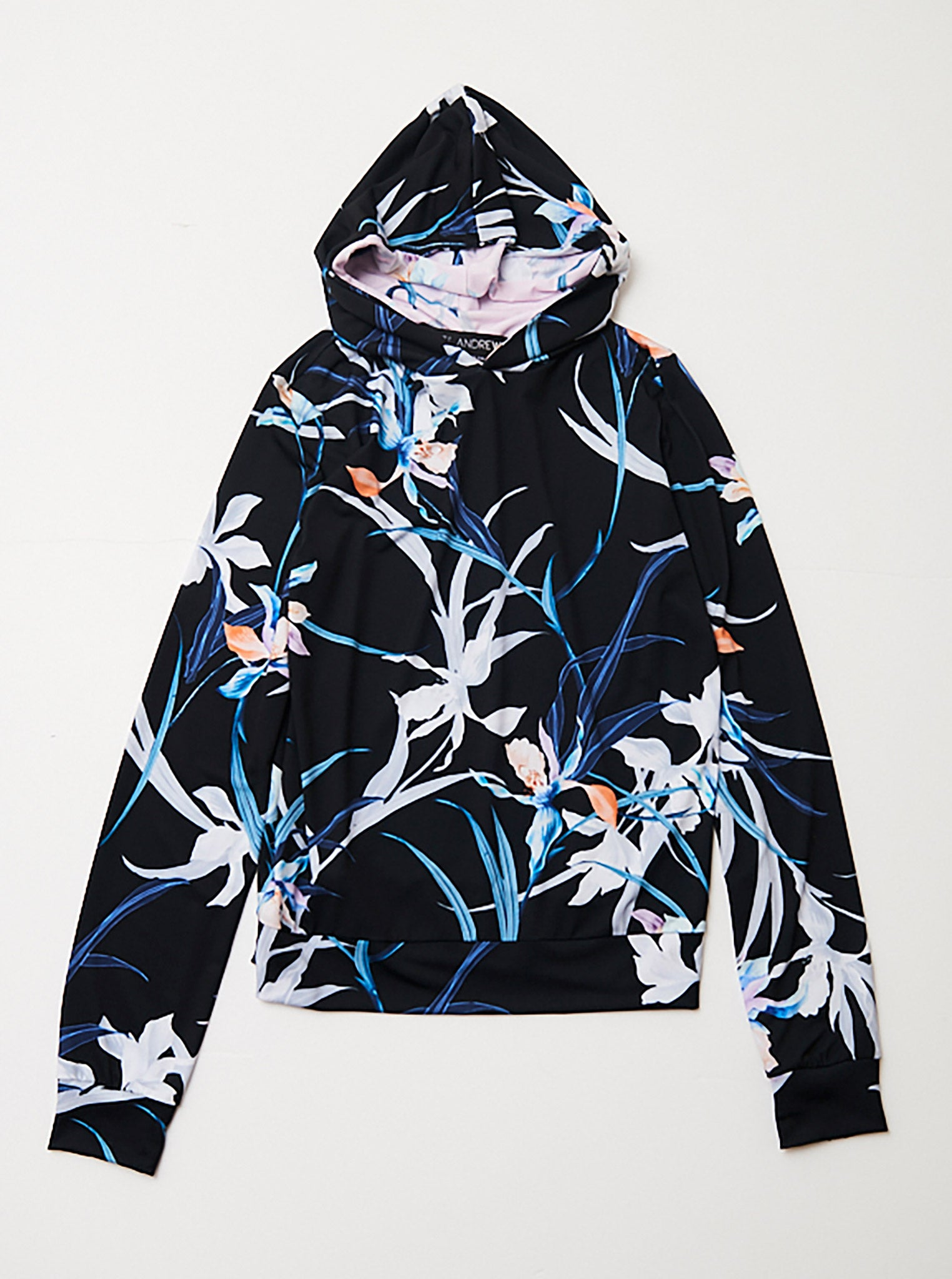 Vinti Andrews Floral Jersey Double Hoody