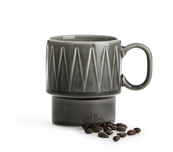 Coffee & More mug grey - Sagaform