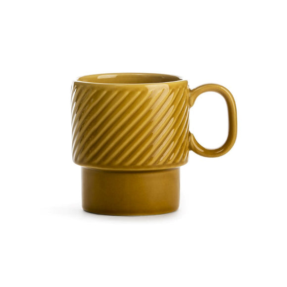 Coffee & More mug yellow - Sagaform