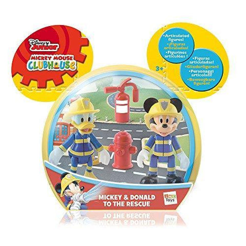 Disney Mickey Mouse Clubhouse Mickey & Donald To The Rescue 2 Figure Set