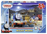 Ravensburger Night Work - Thomas & Friends - 60 pc Glow-in-the-Dark Puzzle