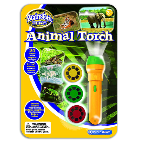 Brainstorm Toys Animal Torch & Projector