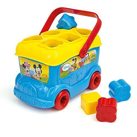 Disney Mickey Mouse & Friends Baby Mickey Shape Sorter Bus