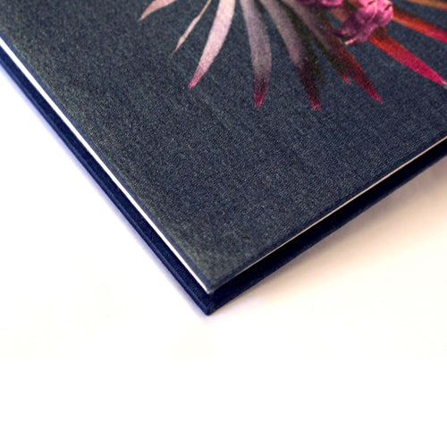 Small Navy Cornucopia Notebook