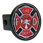 Red Helmet Ladder Hitch Cover