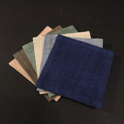 "Linen Coaster set of 6 ""Summer Breeze"""