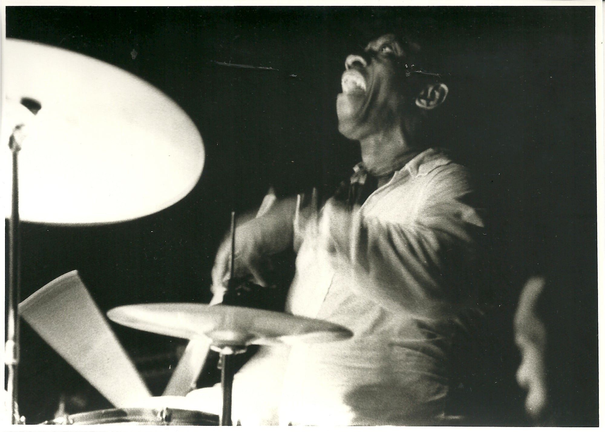 "20"" x 24""  Art Blakey at Top of The Gate 1974"