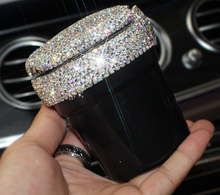 Load image into Gallery viewer, Bling Car Ash Tray - Jet